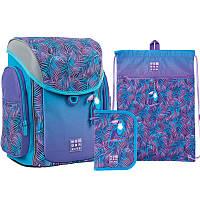 Набор рюкзак + пенал с наполнением + сумка для обуви WK 583 Tropic