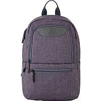 Рюкзак GoPack Сity подростковый школьный городской 119S-2 коричневый