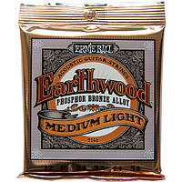 Струны Ernie Ball 2146 Earthwood Phosphor Medium Light12-54