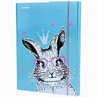 Папка для праці, А4, Kite, Cute Bunny