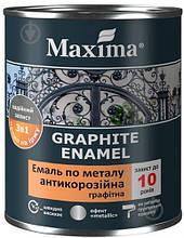 Эмаль Maxima антикорроз.по металлу 3в1, графитная, античная медь 0,75 л