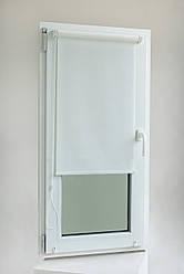 Тканевый ролет 400*1600 Белый