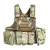 Бронежилет CIRAS MAR. 6-й класс защиты Multicam, фото 1