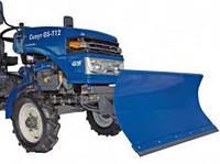 Отвал фронтальный гидравлический для тракторов Скаут Т12(M)-Т24 (ширина 1 м)
