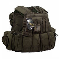 Бронежилет Flyye RAV Vest with Pouch Set Ranger Green