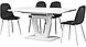 Стіл розкладний Vetro Mebel TML-560 білий, фото 7