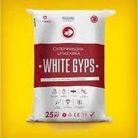 Шпаклівка гіпсова фінішна WHITEGYPS 25 кг