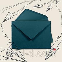 Зелений крафт конверт С6, ЕКО 80г\м. клапан трикутний, 114*162 мм