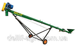 Шнековый зерновой погрузчик (транспортёр зерна) 6 м