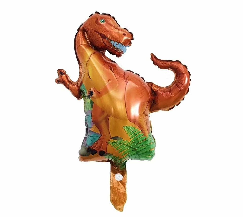 Фольгована кулька міні-фігура динозавр Рекс 37х32см Китай
