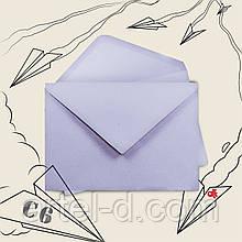 Крафт конверт С6 сріблясто-сірий, ЕКО 70г\м. клапан трикутний, 114*162мм