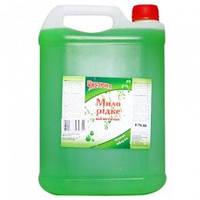 Чистюня  Жидкое мыло Зеленое яблоко 5л