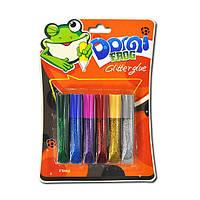 Краска-клей 6цветов*6мл GG-001-1  Pasco 202533