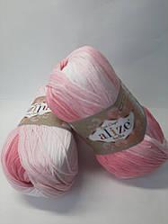 Пряжа для в'язання Bella batik 100 Alize (бавовна 100% )