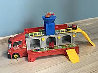 Ігровий гараж Пожежний трейлер з машинками HZ613, фото 1