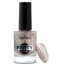 Лак для ногтей Topface Party Glitter № 105