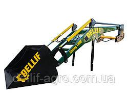 Фронтальний Навантажувач на МТЗ КУН Dellif Strong 1800 з ковшем об'ємом 1.1 м3