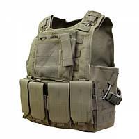 Бронежилет FSBE AAV 4-й класс защиты Coyote Brown, фото 1