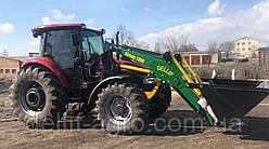 Фронтальний навантажувач КУН на трактор КЕЙС 110 (Case 110) - Делліф Супер Стронг 2000