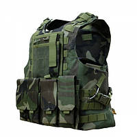 Бронежилет FSBE AAV 4-й класс защиты Woodland, фото 1