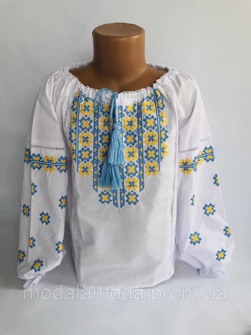 Вышиванка для девочки размер (с 122 по 152)