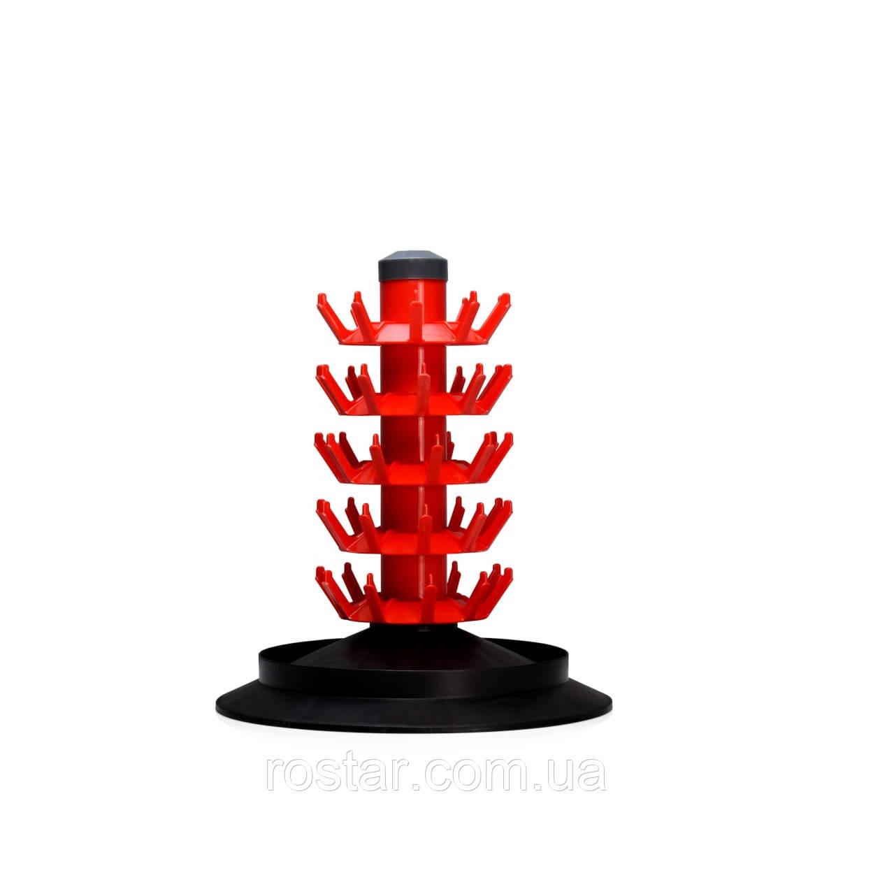 Сушарка на 50 пляшок (модулі різьбові надставки які накручуються)