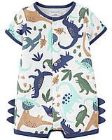 Ромпер пісочник боді для хлопчика Carters Динозавр
