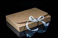 Подарочная коробка на ленту