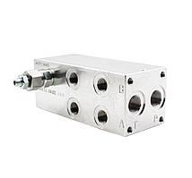 Плита монтажна BMA10P3L2X-20 (2 місця) для Ду 10 мм