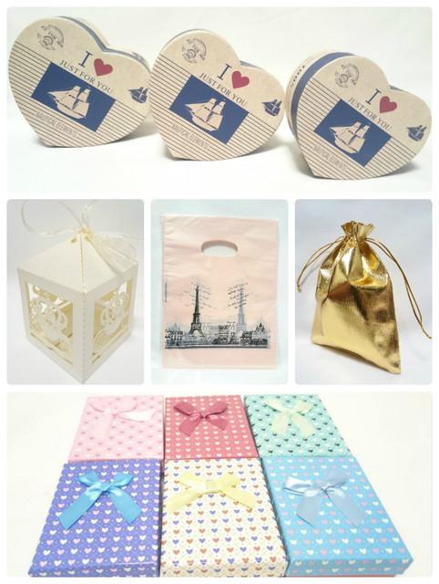 Подарочная упаковка: бумага тишью, наполнитель, коробочки, мешочки, пакеты
