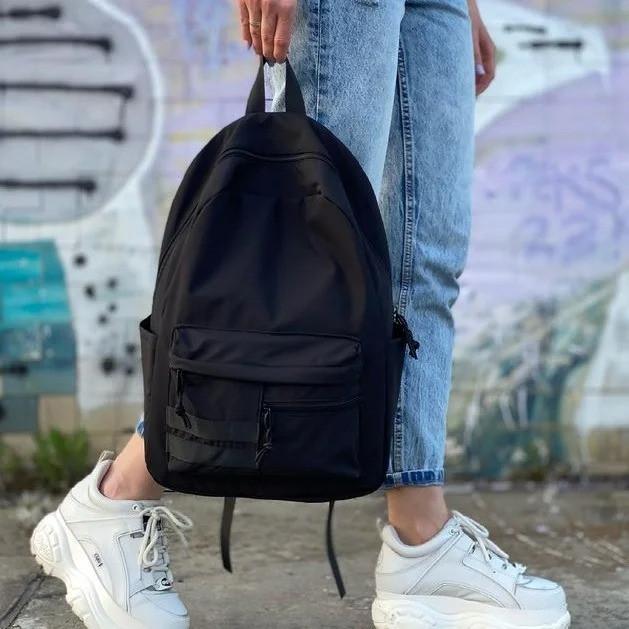 Однотонный рюкзак унисекс