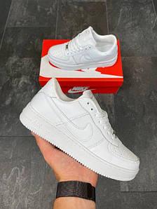 Унисекс кроссовки Nike Air Force 1 белые