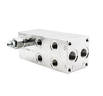 Плита монтажная BMA10P3L3X-20 (3 места) для Ду 10 мм