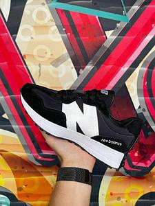 Мужские демисезонные кроссовки New Balance 327 черные