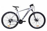 "Горный велосипед LEON TN 80 AL HDD AM 29""(серый (м)) 21r"