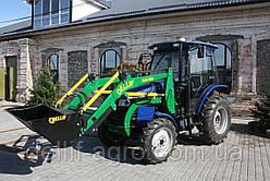 Погрузчик на трактор ДТЗ 5504 К (до 50 л.с.) -Деллиф Бейби 800 с джойстиком