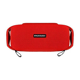 Портативная Стерео Bluetooth Колонка Hopestar H48 Speaker (Красный)