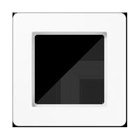 Рамка 1 постовая, белый цвет, A 550