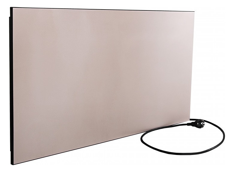 Электронагревательная панель Камин eco heat с усиленной конвекцией 950 EBG бежевая