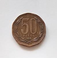 50 песо Чили 1995 г., фото 1