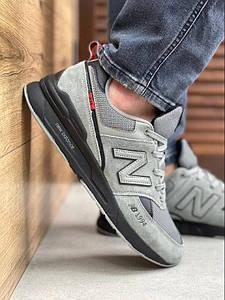 Мужские кроссовки New Balance 574 серые