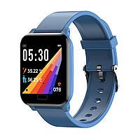 Спортивные фитнес-часы SW06Y с множеством функций синие