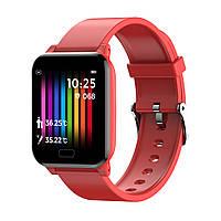 Спортивные фитнес-часы SW06Y с множеством функций красные