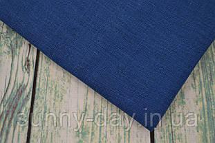 Тканина рівномірного плетіння Permin 076/41 Nordic Blue, 28 каунт