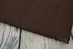 Тканина рівномірного плетіння Permin 076/96 Dark Chocolate, 28 каунт