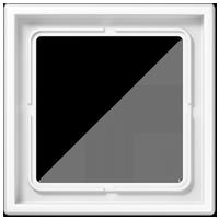 Рамка 1 постовая,белый, дюропласт, A Creation
