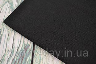 Тканина рівномірного плетіння Permin 076/99 Black, 28 каунт