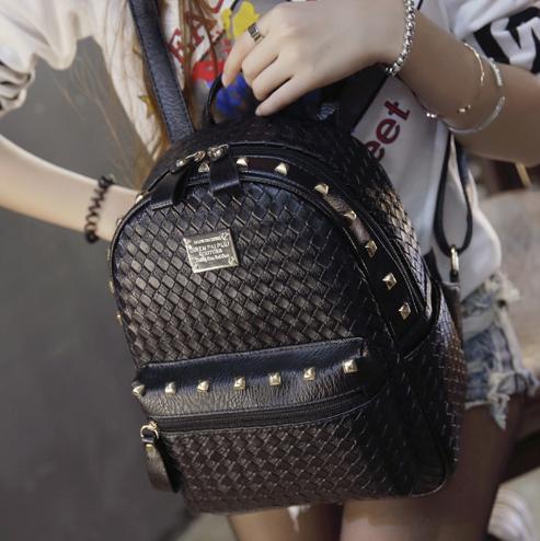 Рюкзак міський жіночий чорний