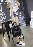 Рюкзак міський жіночий чорний, фото 4