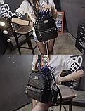 Рюкзак міський жіночий чорний, фото 5